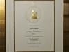 The Temptations Grammy plaque